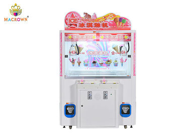 2P White Free Claw Claw Crane Machine Triple Catch Ice Cream Minus 35 độ